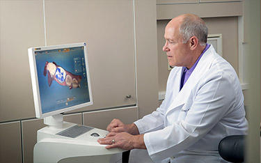 Using CEREC, Dr. Schulz can create your new crown in just one visit.